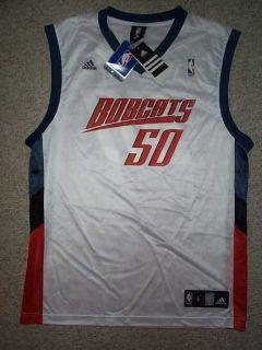 Adidas Charlotte Bobcats Emeka Okafor NBA Jersey L