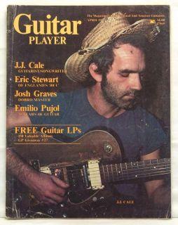 Guitar Player Magazine J J Cale Eric Stewart Josh Graves Emilio Pujol