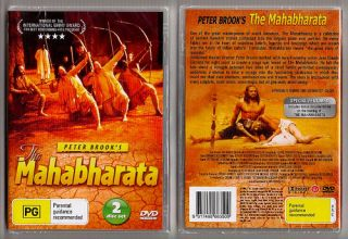 The Mahabharata by Peter Brook Complete 2 DVD Set Movie
