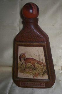 Beams Choice James Lockhart Fox Whisky Bottle Vintage