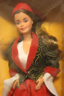 1986 Greek Barbie from Dolls of the World Barbie DOTW by Mattel (NRFB