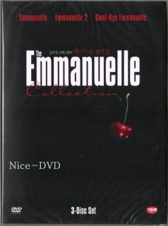 The Emmanuelle Collection 3 DVD Box Set New Sylvia Kristel