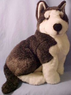Large Lou Rankin Erskine Siberian Husky Puppy Dog LQQK