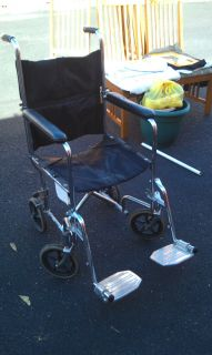 Everest Jennings Transport Chair Wheelchair