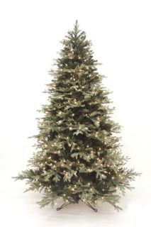 Artificial Evergreen Pre Lit Christmas Tree Bonney Pine