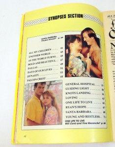 Soap Opera Digest February 1988 Rod Arrants Wesley Addy Joe Campanella