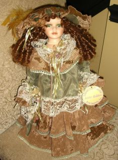Emerald Doll Collection 2001 Edition Porcelain Doll