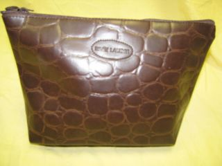 Estee Lauder Travel Cosmetic Makeup Purse Bag Tote