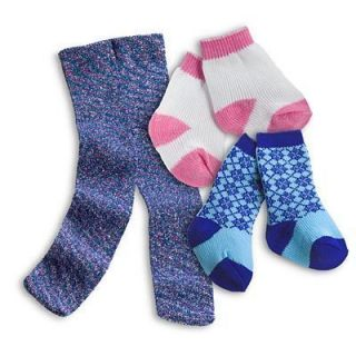 American Girl Socks Tights Set Just Like You BNIB