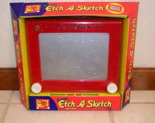 Ohio Art Classic Etch A Sketch 505 Red New in Package