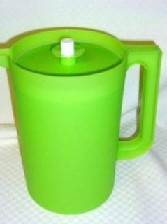 Big 1 Gallon Iced Tea Kool Aid Juice Drink Pitcher Green New