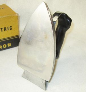 Vintage General Electric Automatic Clothes Iron Model 119F101 Works w