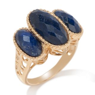 precious gem faceted oval 3 stone ring rating 64 $ 19 95 s h $ 1 99
