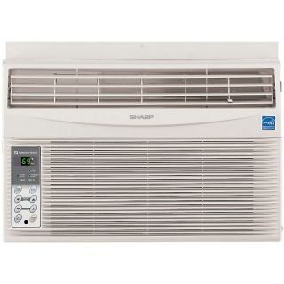 Sharp 8,000 BTU Window Mounted Air Conditioner with Rest Easy Remote