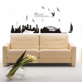 STYLE Bridge Adhesive Removable Wall Decor GRAPHIC Sticker Decal