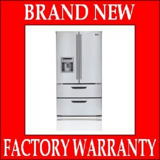 French Door Refrigerator Stainless Steel Energy Star Out of Box