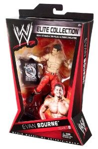 Evan Bourne WWE Mattel Elite Series 8 Action Figure