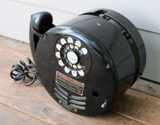 ANTIQUE Vintage Western Electric 320 Mining Mine Telephone Phone Box