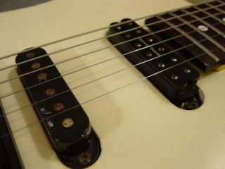 1980s Charvel Model 4 Electric Guitar Pearl White USA Rosewood Seymour