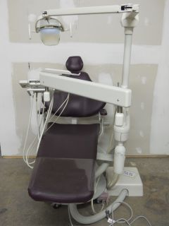 Engle Chair, Engle AS2 Delivery Unit, Pelton & Crane Light Used Dental