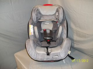 Evenflo Symphony 65 Grey Convertible Car Seat   Static