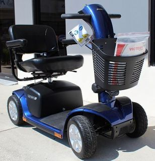 Mobility VICTORY 10 4 Wheel Electric Senior Scooter SC710 Rear Basket