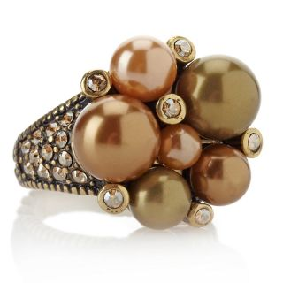 Heidi Daus Brilliant Baubles Crystal Accented Cluster Ring