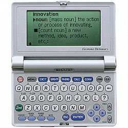 Sharp PWE560 Electronic Dictionary English French