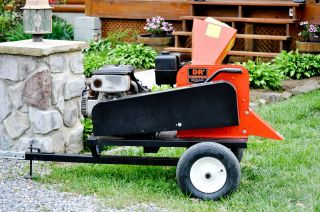 Dr Wood Chipper 18 HP Electric Start