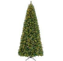 Windsor Slim Prelit Christmas Tree 9 Foot Artificial Christmas Tree