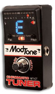 ELECTRONIC TUNING TUNER PEDAL FLOOR MODTONE MT CT SALE ON NOW