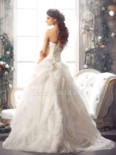 2013 Landybridal Exclusive Wedding Dress Bridal Gown Size Free New