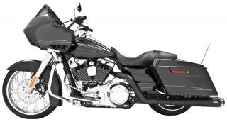 Freedom Performance Racing Dual System Exhaust Black HD00221