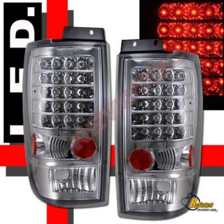 97 98 99 00 01 02 Ford Expedition XLT Eddie Bauer LED Tail Lights