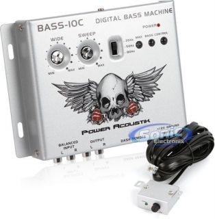 Power Acoustik BASS10C Digital Bass Processor Epicenter