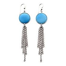 heritage gems sleeping beauty turquoise gems earrings $ 99 98 $ 169 90