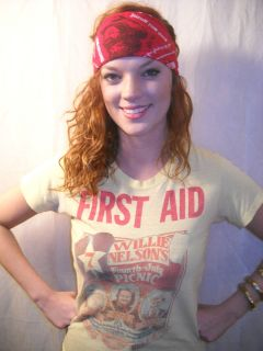 Tshirt Farm Aid First Aid July 4th 1979 Ernest Tubb Austin S