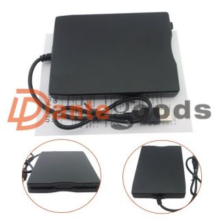 slim external usb 1 44mb floppy disk diskette drive pc laptop notebook