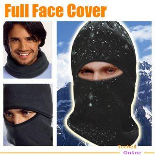 New Black Warm Full Face Cover Winter Ski Mask Beanie Hat Scarf Hood