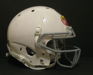 air standard 2 white large regular football helmet kids face mask