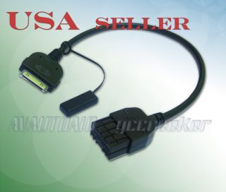 iPod iPhone Interface Cable for Nissan Cube Juke Sentra Headunit 284H2