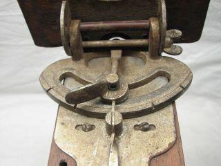 SAW GAUGE ANTIQUE WOOD TOOL 1907 PAT ELIZABETHVILLE PA COMPOUND MITER