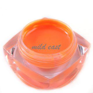 20ml Solid Color Nail Art UV Builder Gel for Manicure Strengthen False