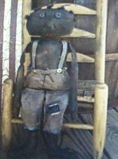 PriMiTiVe EZRA FOLK BOY BLACK DOLL PATTERN The Primitive Nook