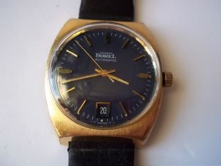 Ernest Borel Automatic Watch Gold Plated Pre Owned