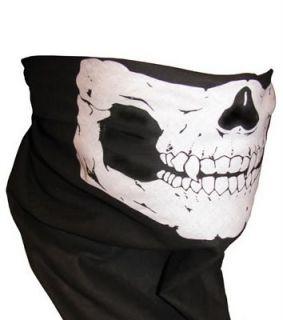 Harley Motorcycle Skull Face Biker Bandana Mask Scarf