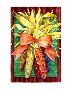 Indian Corn Fall Autumn Flag Flags Banner