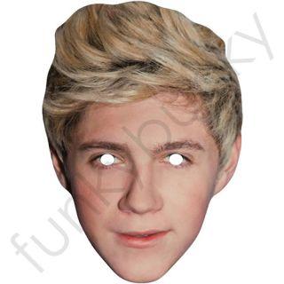 Horan One Direction Celebrity Singer Face Mask Made in The UK