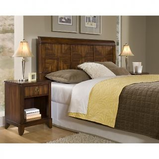 Home Styles Paris Queen Headboard and Night Stand