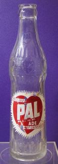 Ade ACL Painted Label Soda Bottle 7 1 2 oz Fallston N C 1949